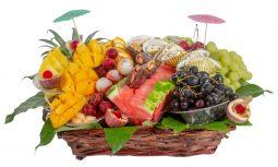 סלסלת פירות גן עדן