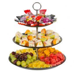 מגש פירות משולב סושי פירות ושוקולדים