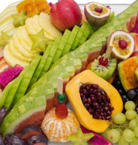 מגש פירות אקזוטי