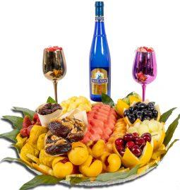 מגש טרופי כלל יין (מומלץ)