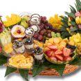 סלסלה משולבת - פירות טריים ויבשים