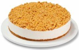 עוגת גבינה פירורים (מומלץ)